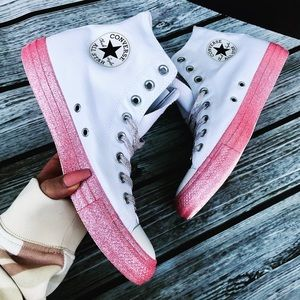 NEW 💖 CONVERSE x MILEY ALLSTAR GLITTER EXTREME